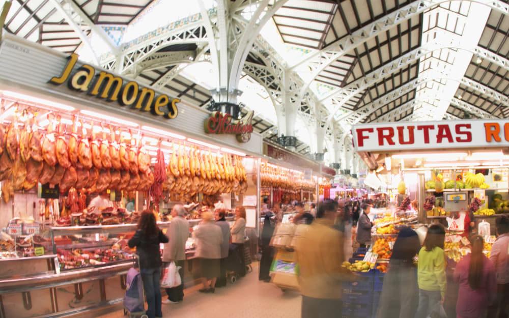Valencia Central Market - Valencia Food Market