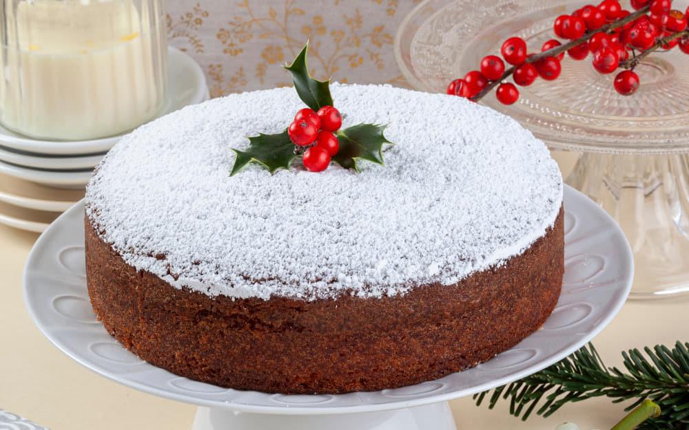 Vasilopita (Saint Basil's Cake)