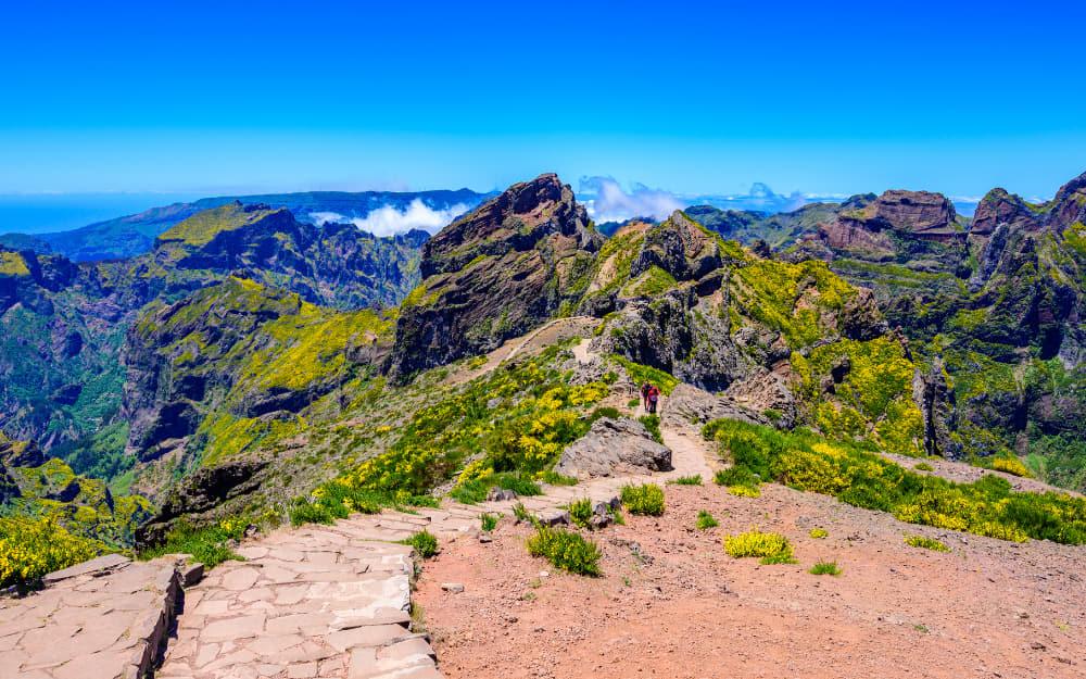 Vereda do Areeiro (PR1 Madeira) - Difficult Madeira Hike