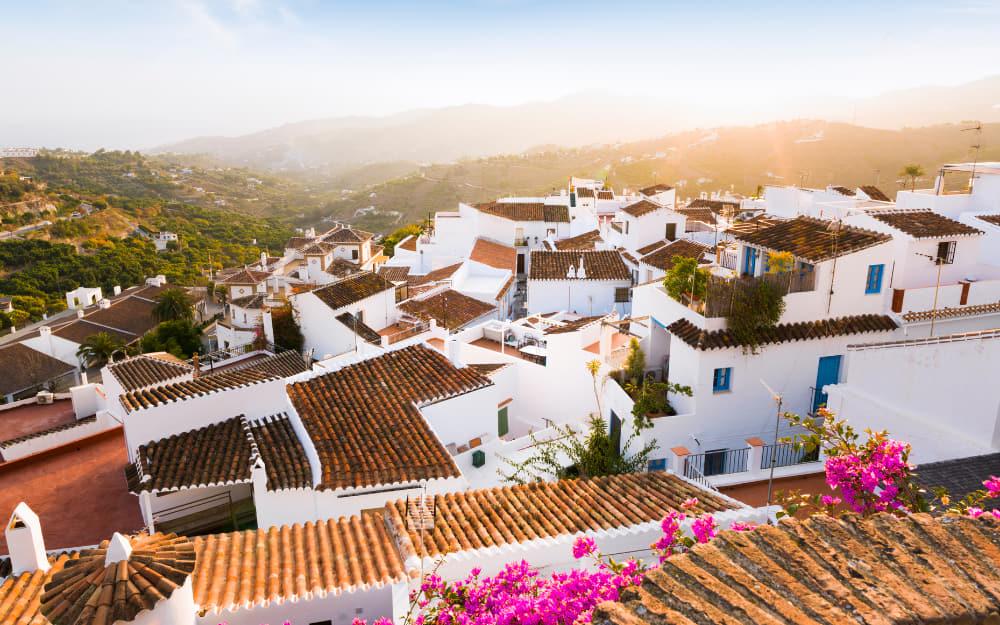 Visiting Frigiliana Spain