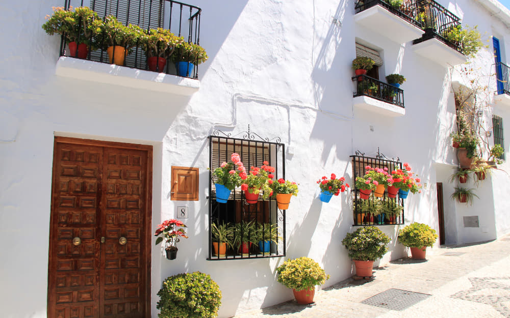 Where to stay in Frigiliana Andalusia Spain