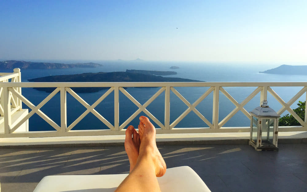 Where to stay in Santorini, Imerovigli