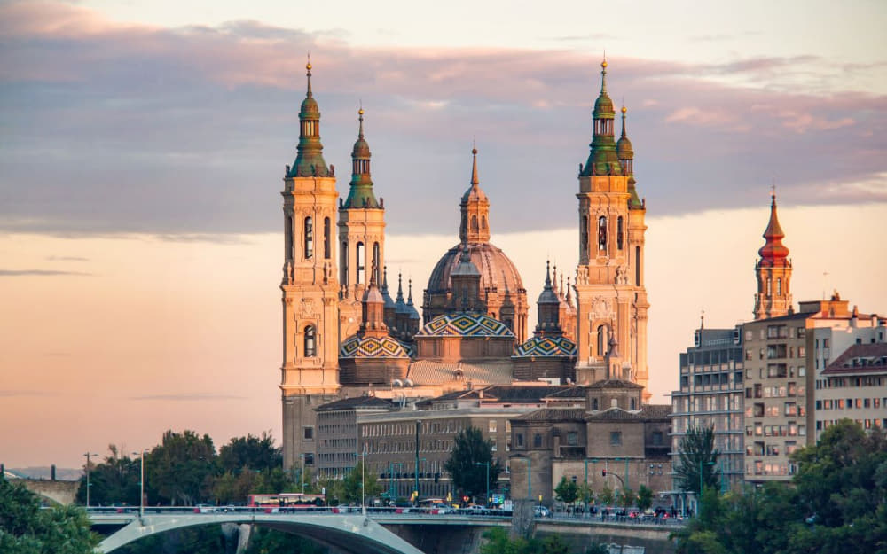 Zaragoza Cathedral - © Photo by Faraway Worlds