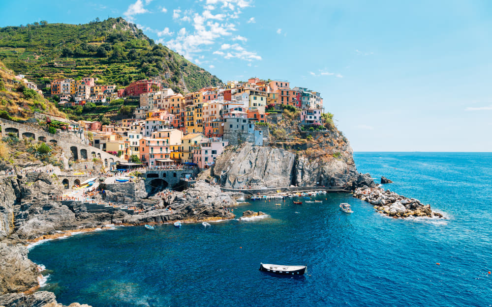 Positano - Italy Quotes - 67 Quotes About Italy © Image Courtesy of Sanga Park from Getty Images Pro by Canva