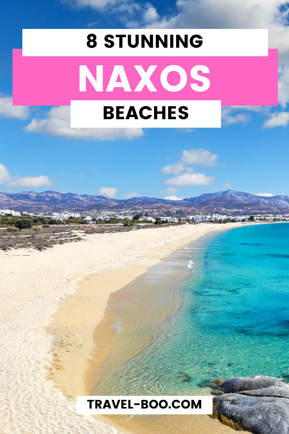 8 Best Beaches in Naxos, Greece Worth Exploring! Naxos Greece Island, Naxos, Naxos Beaches, Naxos Itinerary, Naxos Travel Guide, Greek Travel Islands