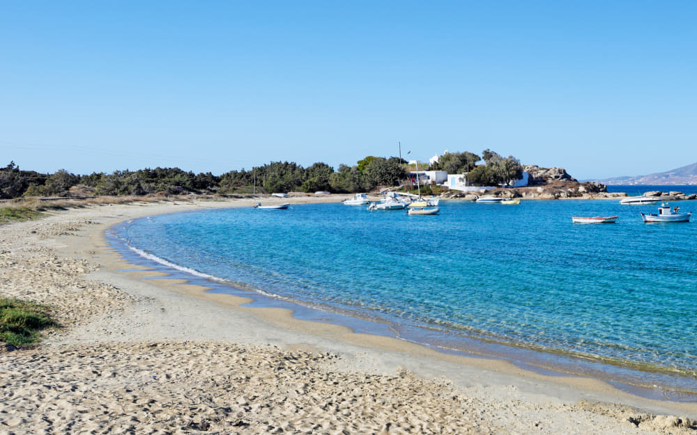 Agia Anna Naxos Beach © Image Courtesy of Constantinos-Iliopoulos from Getty Images by Canva