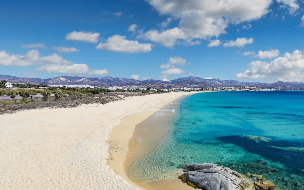 Agios Prokopios Naxos Beach © Image Courtesy of Constantinos-Iliopoulos from Getty Images by Canva