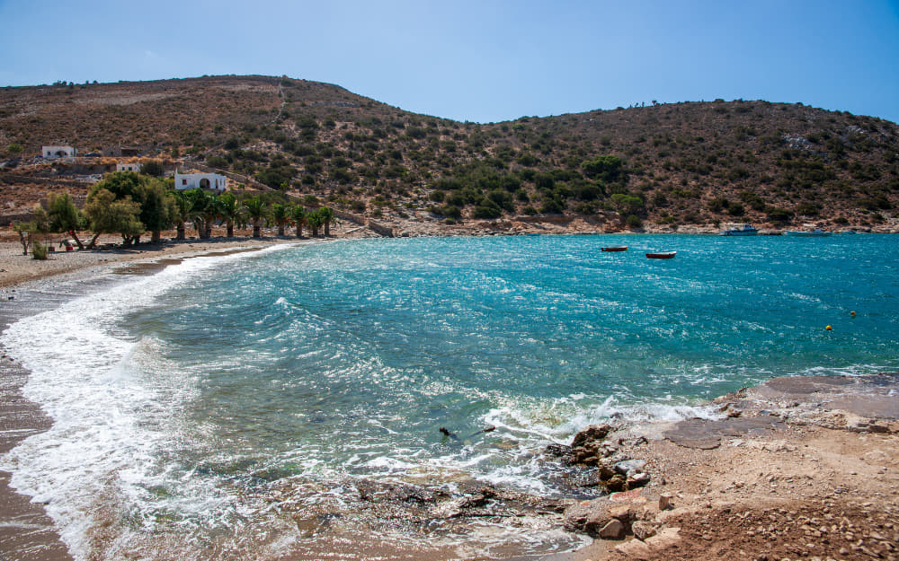 Panormos Beach Naxos © Image Courtesy of Artur Kiss from Getty Images by Canva