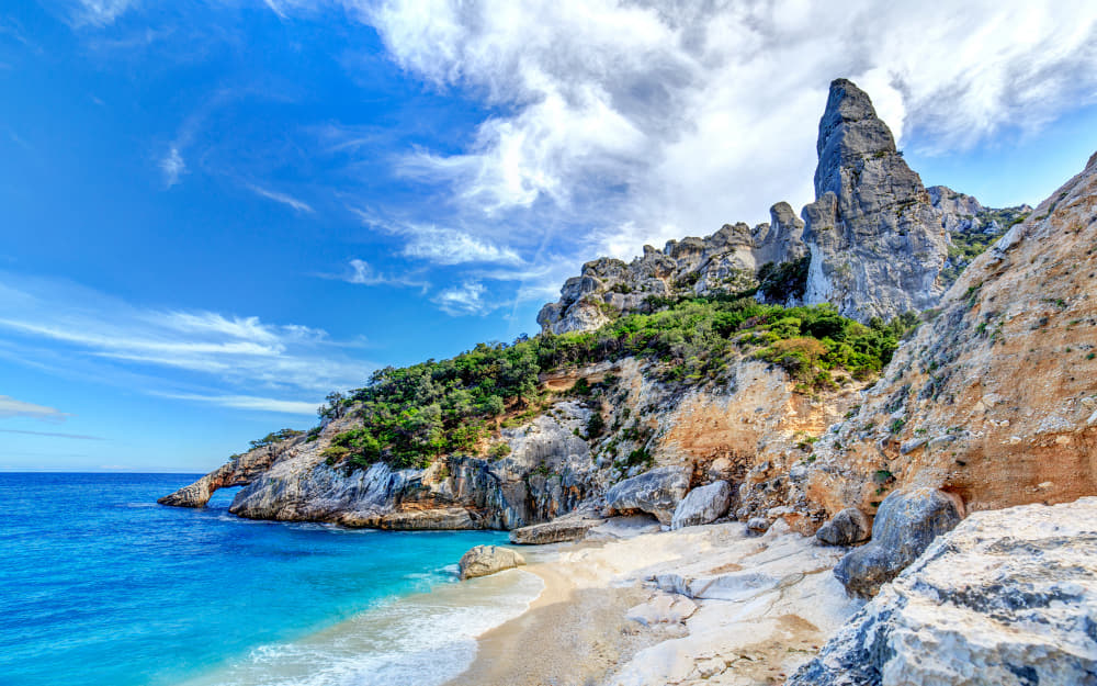 10 Best Beaches in Sardinia, Italy - Cala Golorize © Photo by maniscule from Getty Images by Canva
