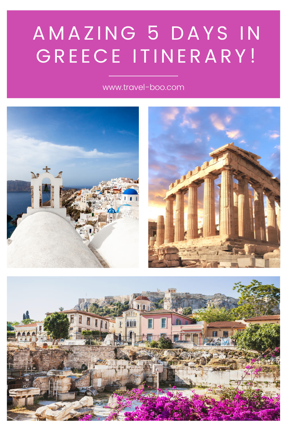 Amazing 5 Days in Greece Itinerary! Greece Travel Itinerary, Visiting Greece, Greece Vacations, Greek Itinerary, Greek Travel Islands.