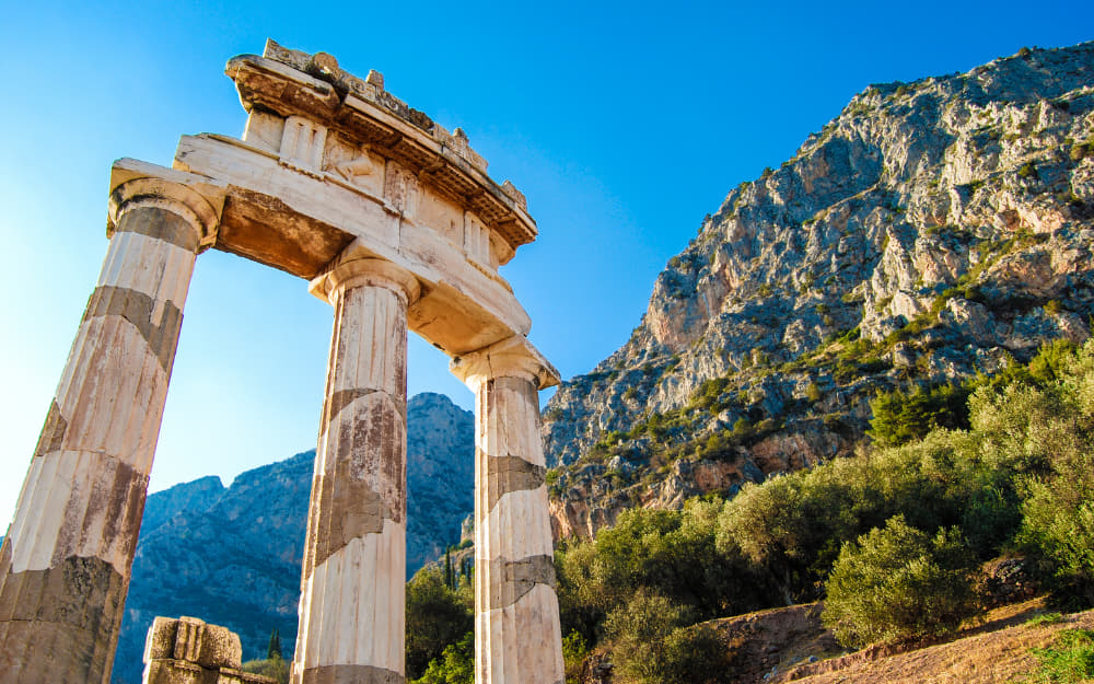 Delphi Ruins - 5 Days Greece Itinerary