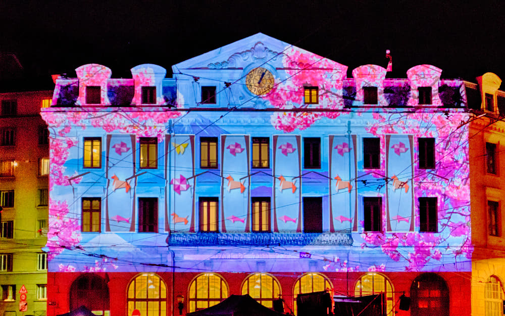 Lyon French Festival of Lights © Image Courtesy of Jeece Gallay from Getty Images by Canva