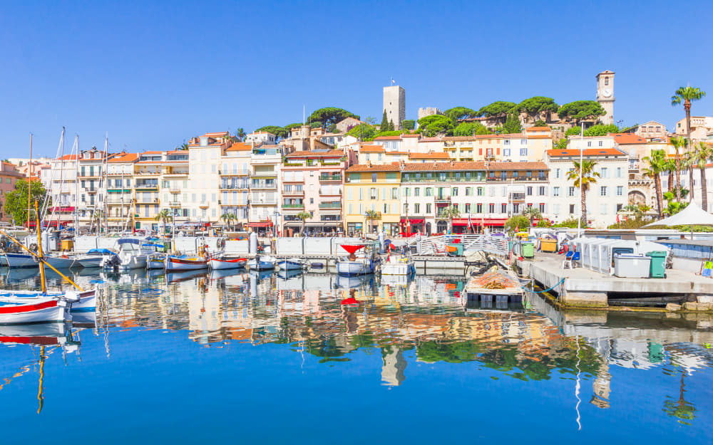 Old Port of Cannes © Image Courtesy of gianliguori from Getty Images by Canva