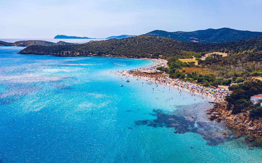 Tuerredda Beach in Sardinia © Photo by DaLiu from Getty Images by Canva
