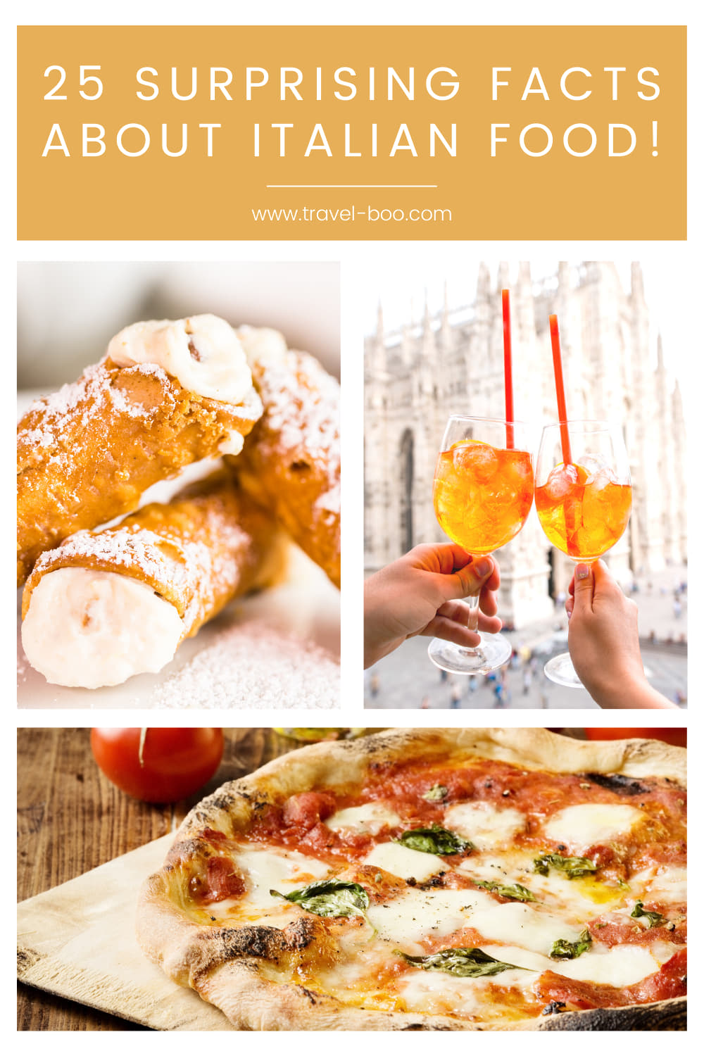 25 Fun & Fascinating Facts About Italian Food And Cuisine! Italy Travel, Italy Travel Guide, Italy Foods, Facts about Italian food, Italian Food Facts, Italy Travel Tips.