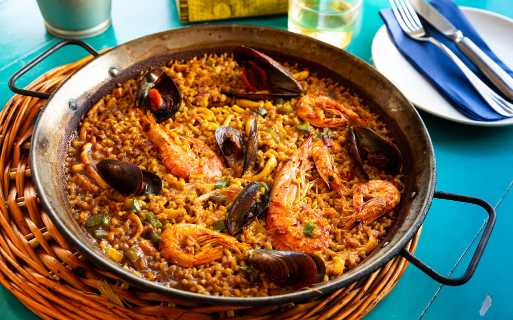 Paella Pan - Souvenir from Spain - © Image Courtesy of JackF from Getty Images by Canva