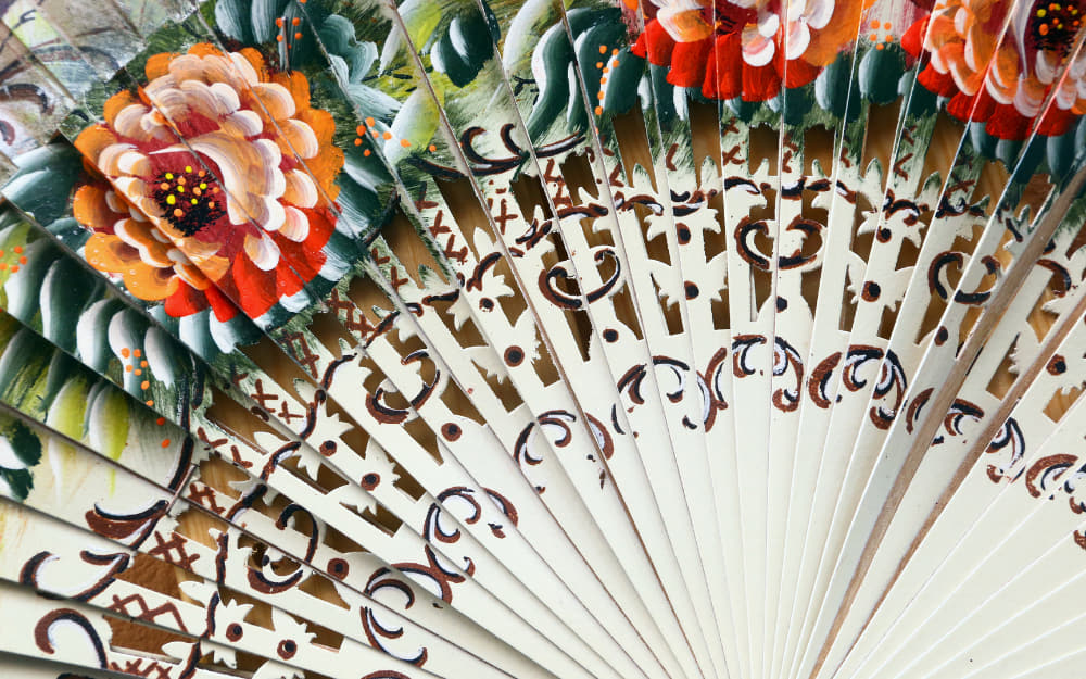 Spanish Hand Fans - © Image Courtesy of Manakin from Getty Images by Canva