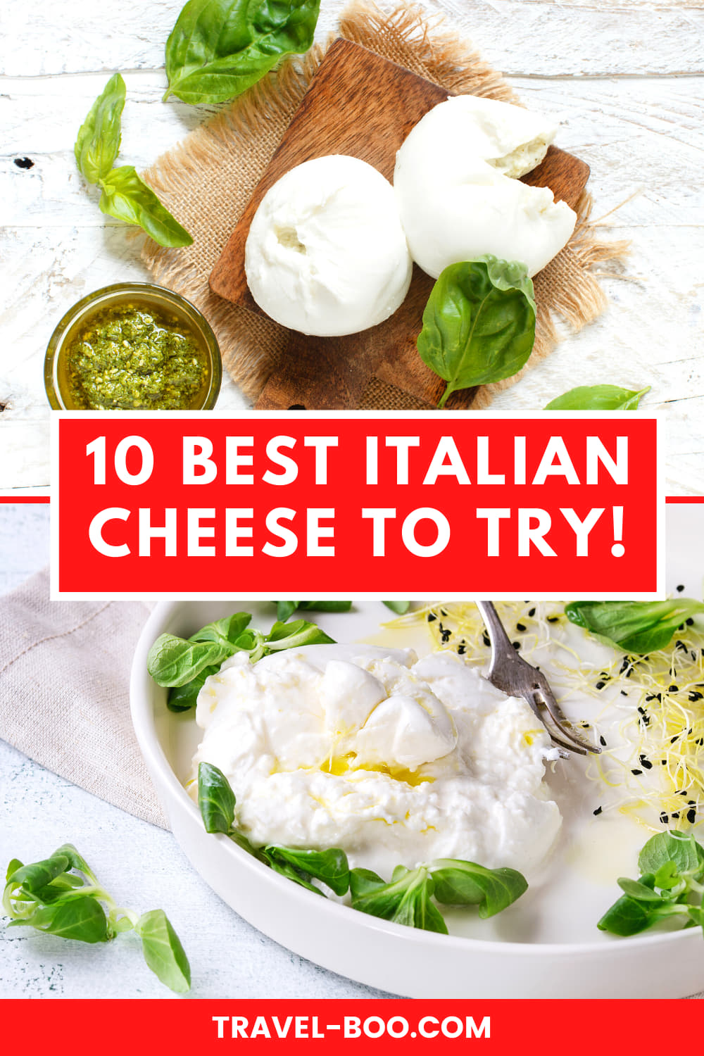 10 Of The Best Cheeses from Italy to try! Best Italian Cheeses, Cheese from Italy, Italian Cheese, Italian Food, Italian Cuisine, What to Eat in Italy, Cheeses in Italy!