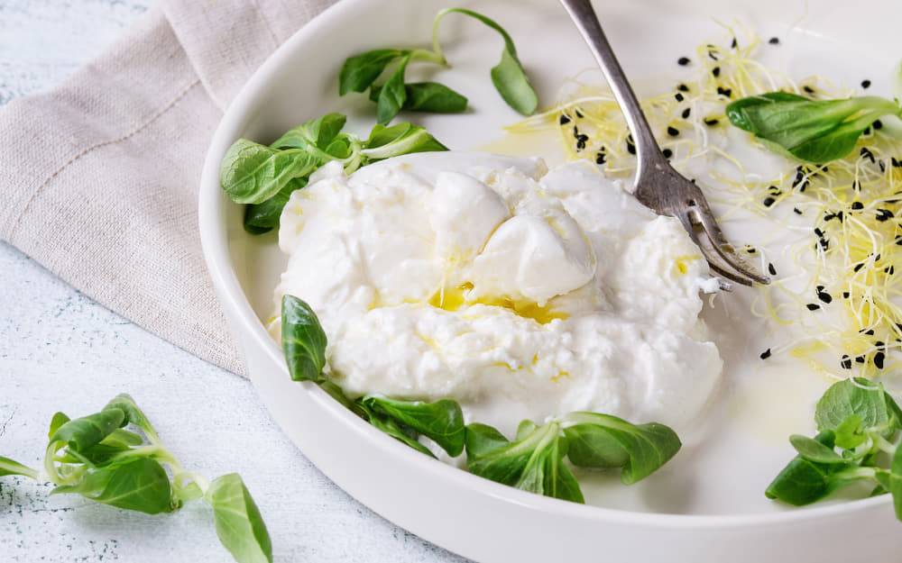 Italian Cheese Burrata © Photo by NatashaBreen from Getty Images by Canva
