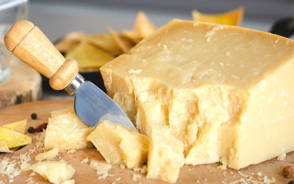 Parmigiano Reggiano © Photo by Shelley from Travel Mexico Solo